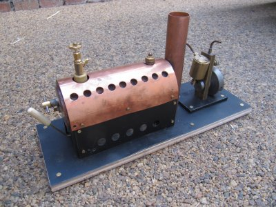 Simple Boiler construction