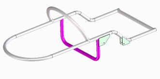 Sidecar Frame Design Additional Brace Shown In Magenta Suspension
