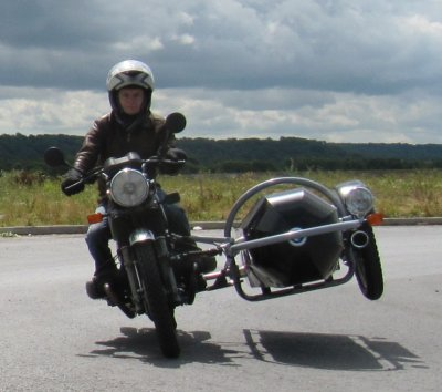 Riding with a Motorcycle Sidecar