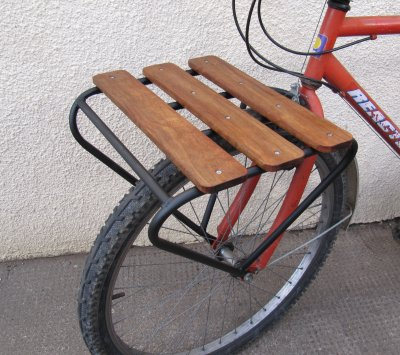 Making A Bicycle Porteur Rack