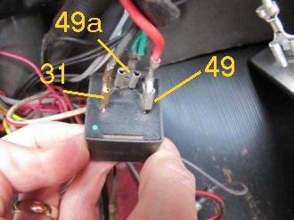 Replacing Old Flasher Unit with Modern Relay
