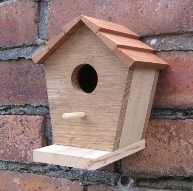 Simple birdhouse bird box for Simple birdhouse